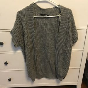 Forever 21 grey cardigan